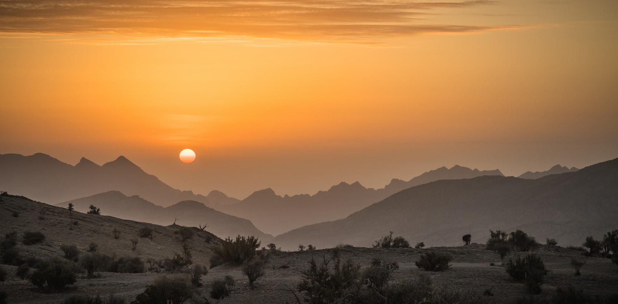 Sunrise on Jebel Akhdar