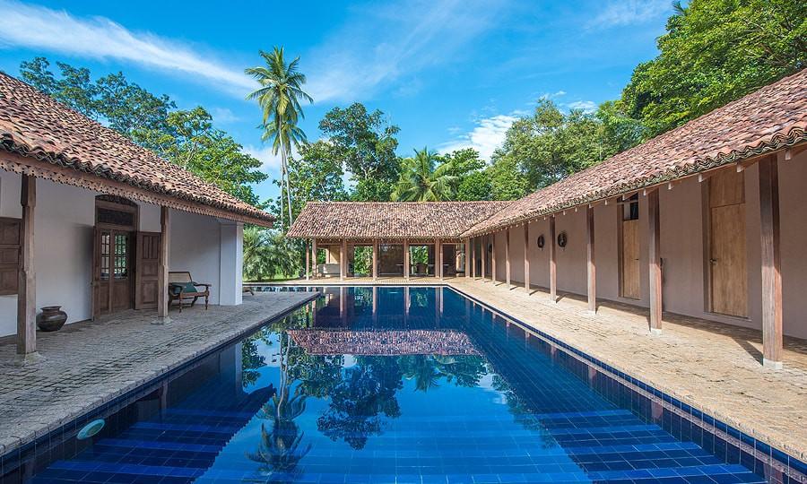 Relaxing pool at Maya Tangalle