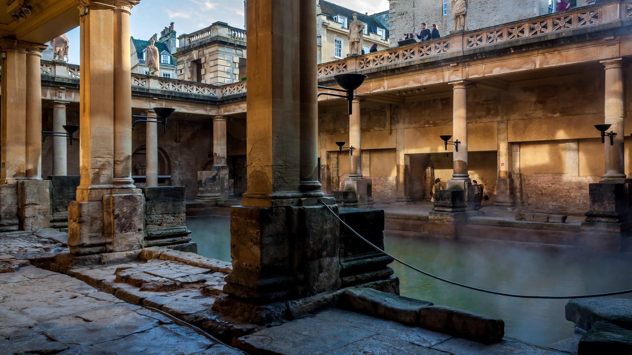 The Story Behind the Roman Baths in Bath