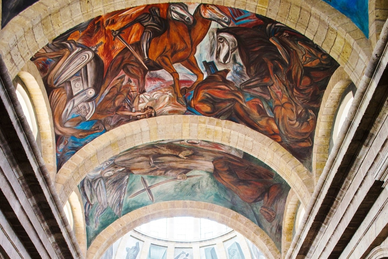 A Guide To Visiting The Orozco Murals In Guadalajara