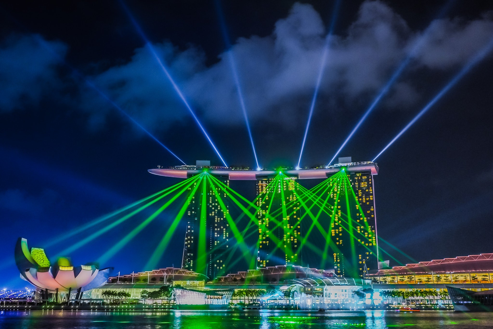 Where to See Singapore's Spectacular Light Shows