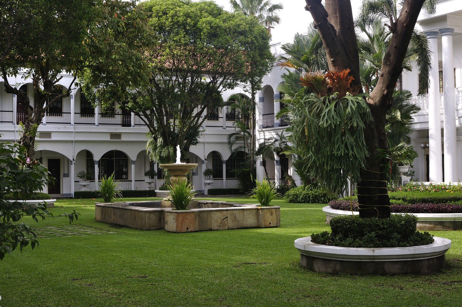 Majapahit Hotel, a historical landmark in Surabaya