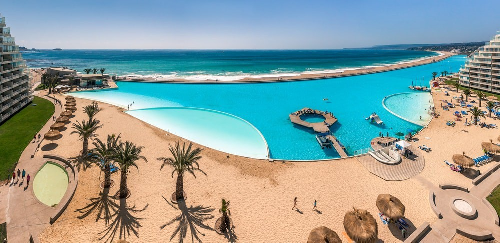 This Country is Home to the World's Largest Swimming Pool in South