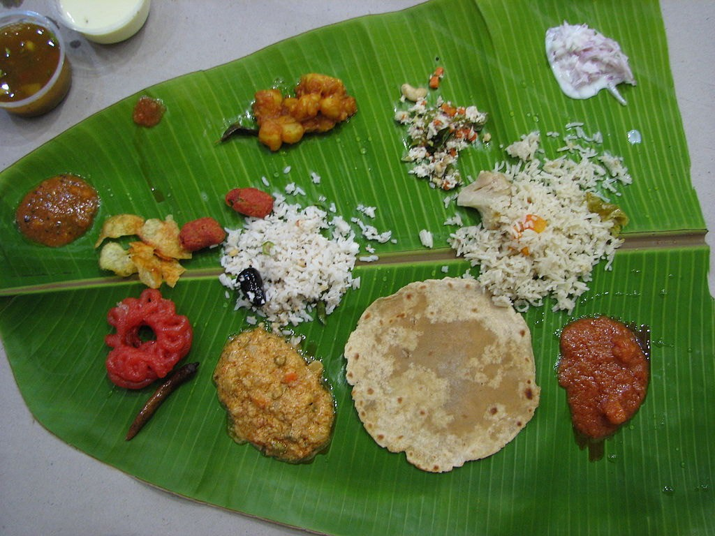 Traditional South Indian Wedding Food Menu List