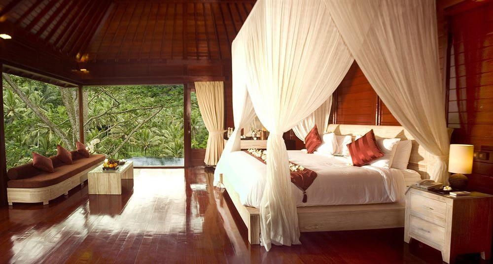 Guest room at Kupu Kupu