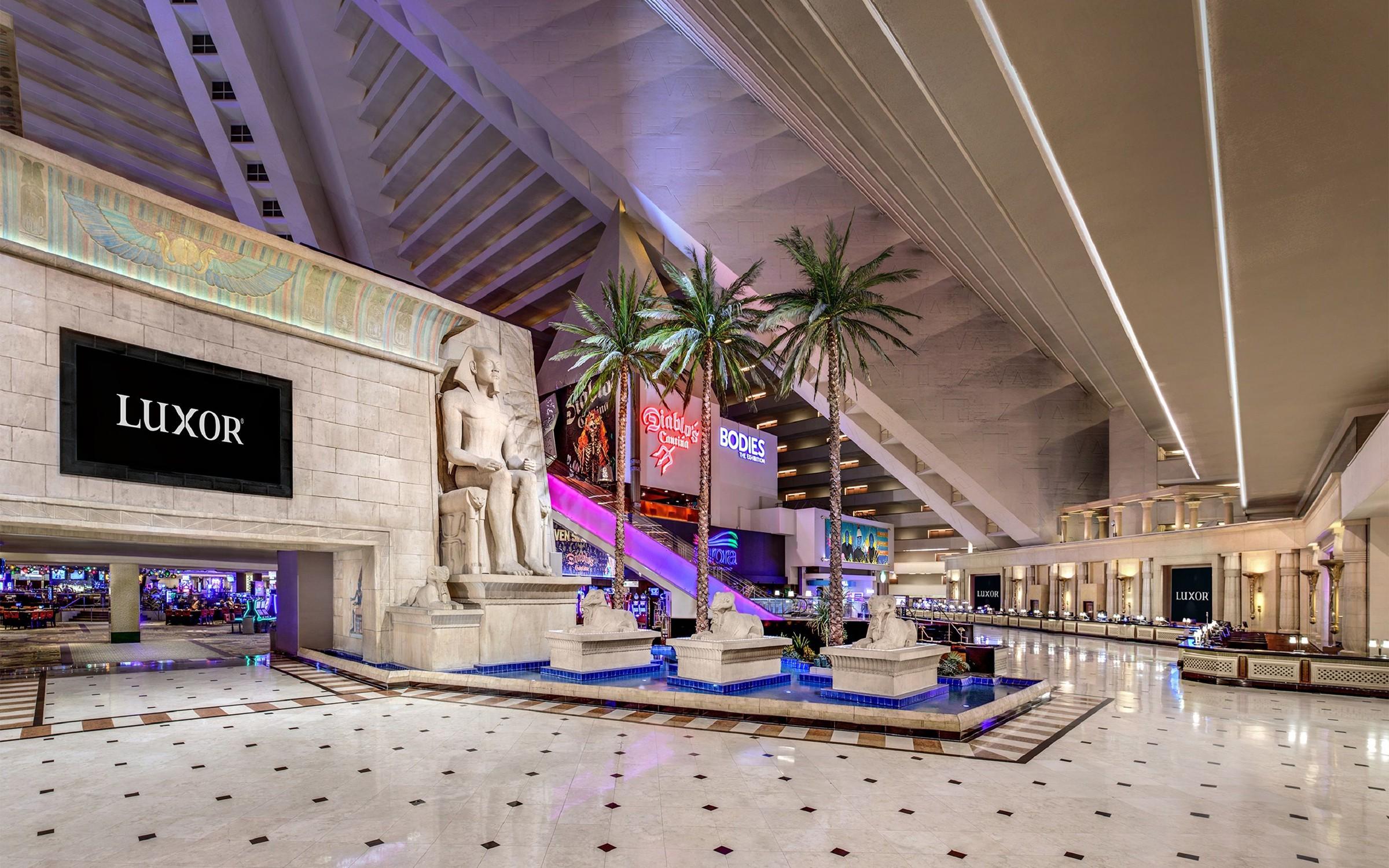 Courtesy of Luxor Hotel and Casino / Expedia