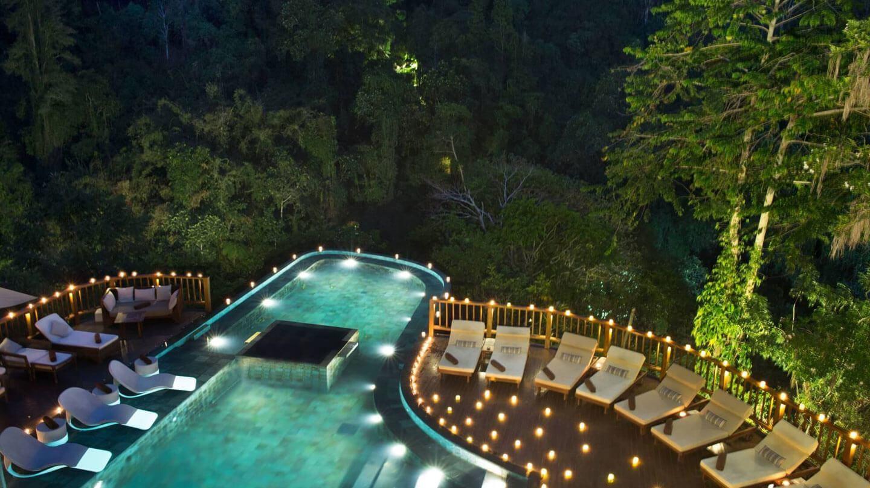 Hanging Gardens of Bali infinity pool