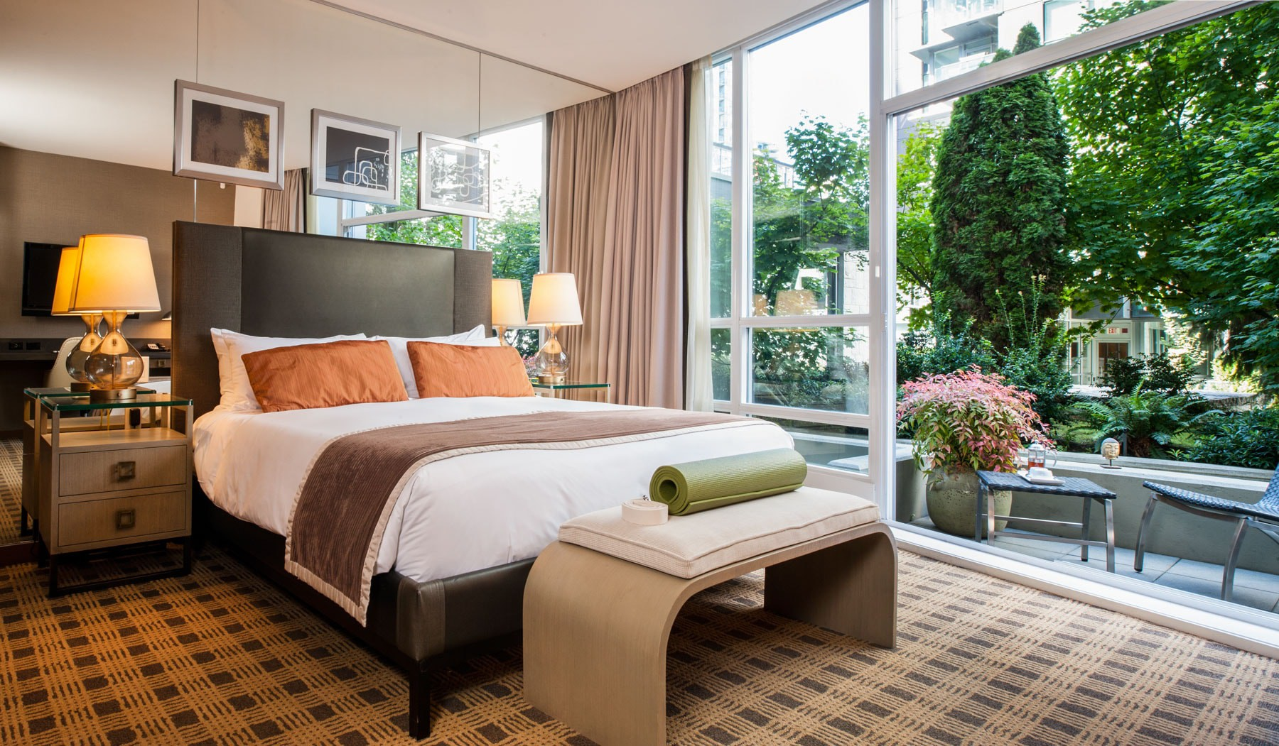 A suite in Loden Hotel