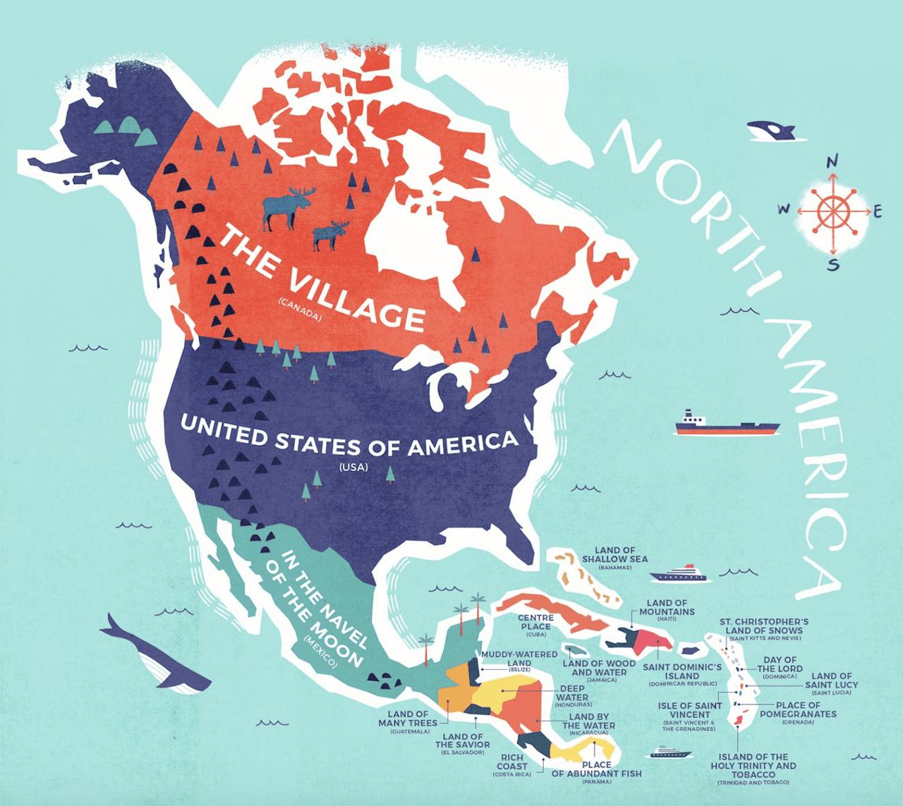 north US