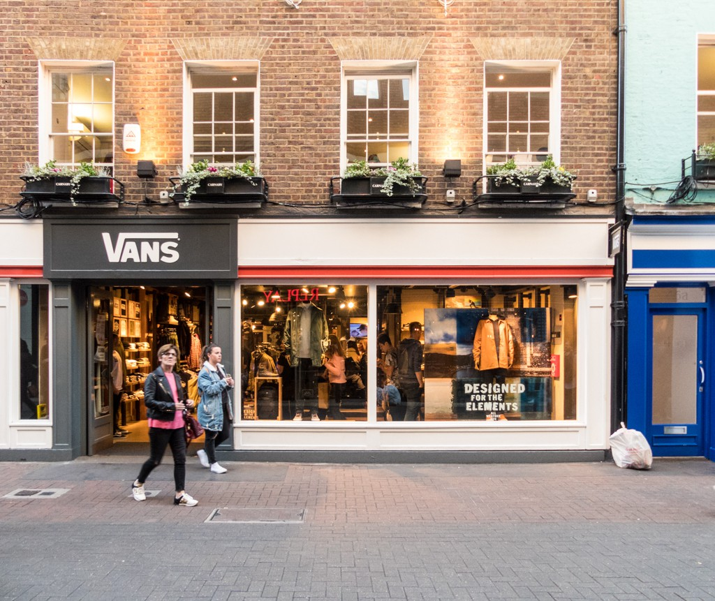 87fab0dfc0a91 The Coolest Sneaker Shops in London