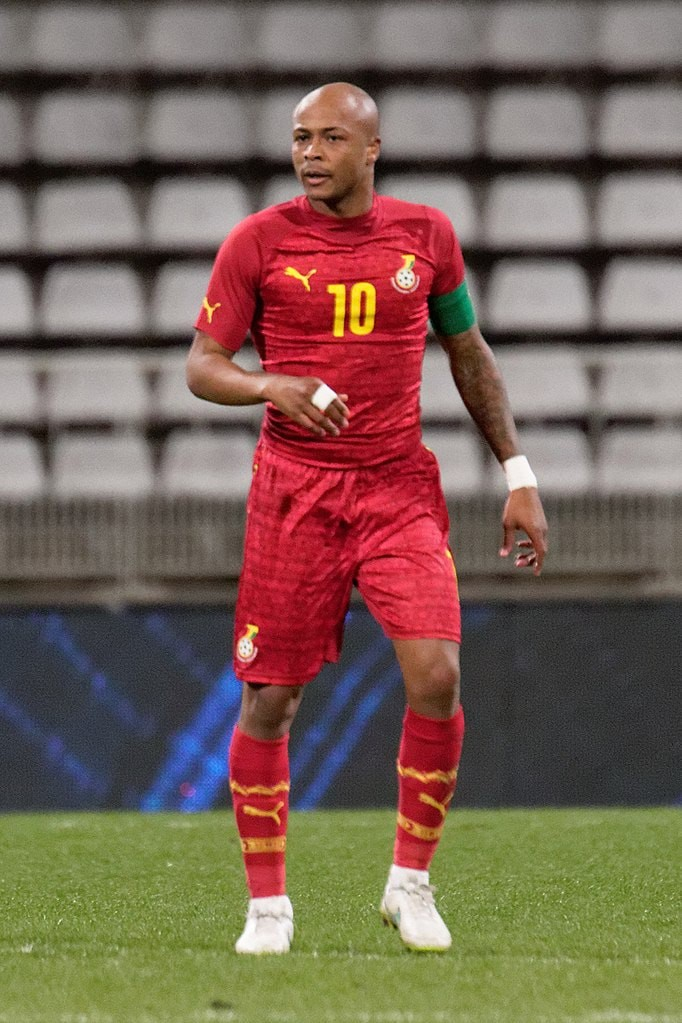 These Are the Best Football Players from Ghana