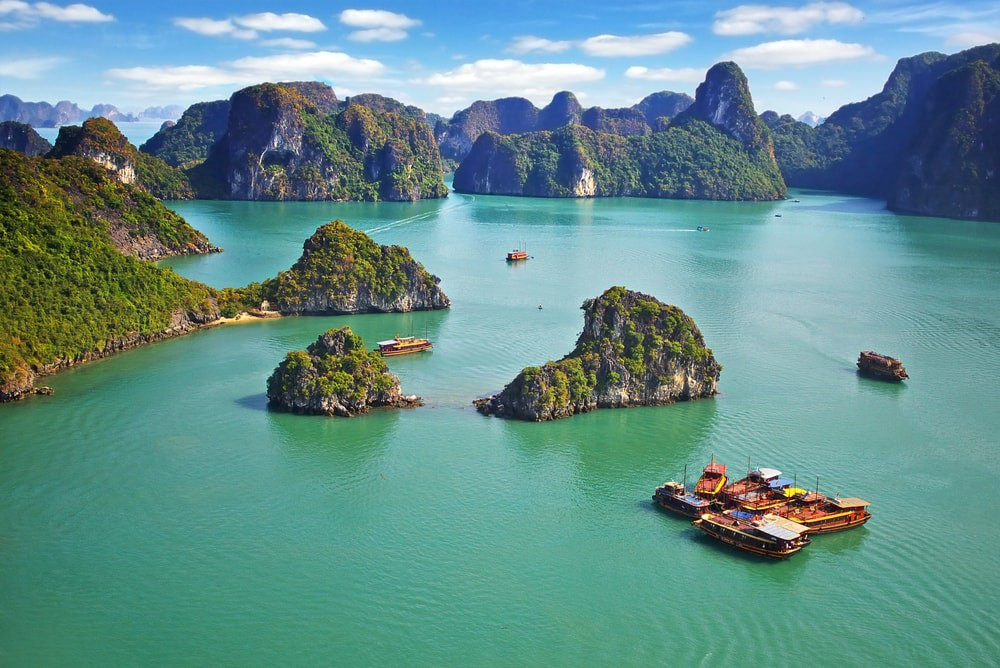 Image result for different places in vietnam collage