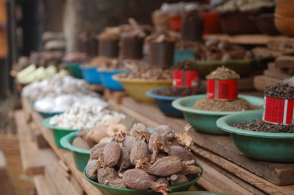 Food markets in Abuja