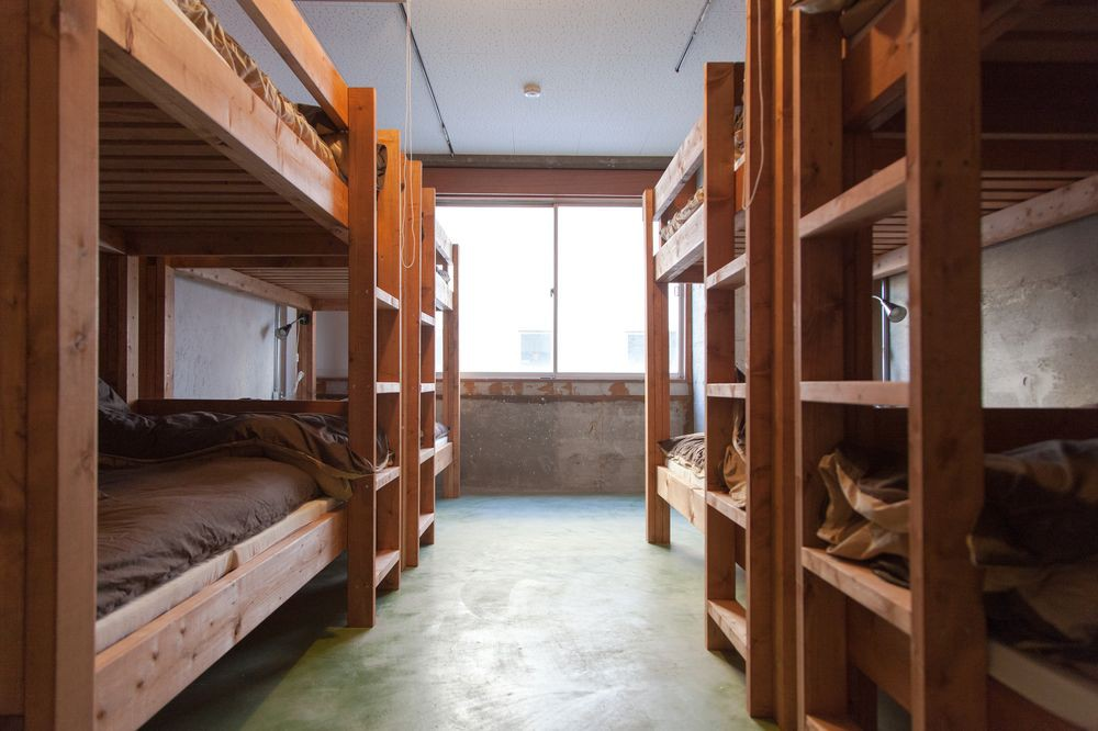 Women's dormitory at Nui. Hostel & Bar Lounge