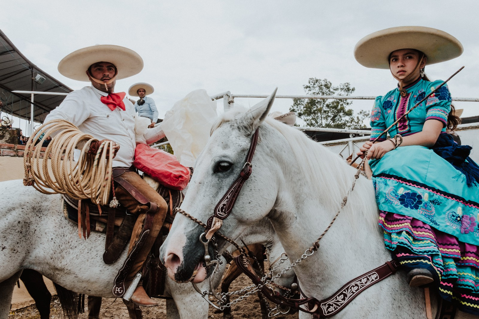 Both beginner and seasoned riders participate in the rodeo