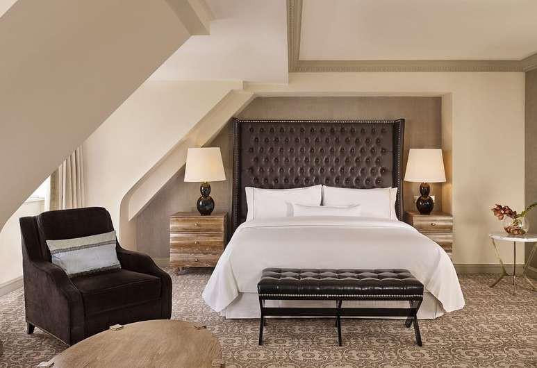 Guest suite at The Westin Dublin