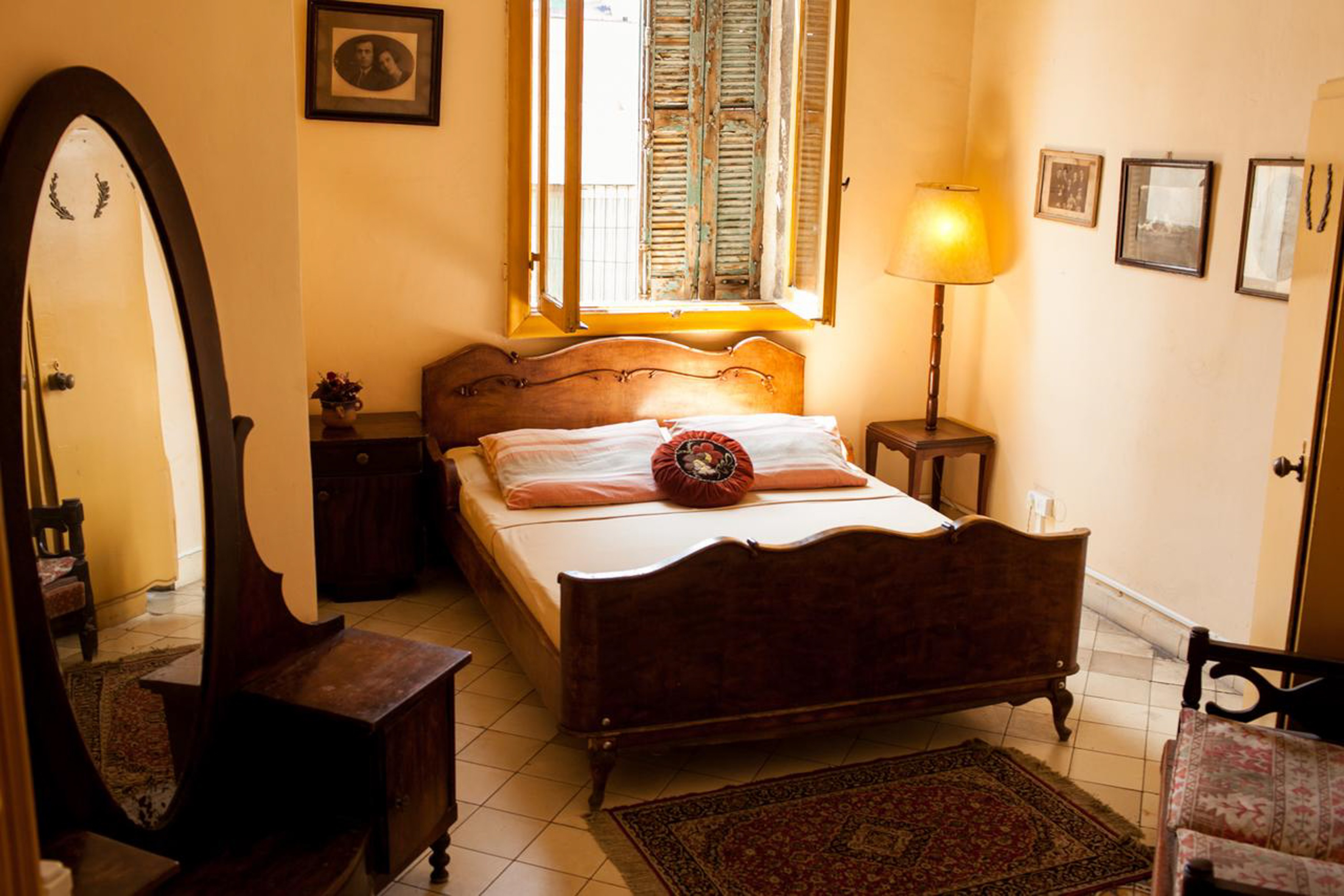 Old Jaffa Hostel has a mix of private rooms and dorms