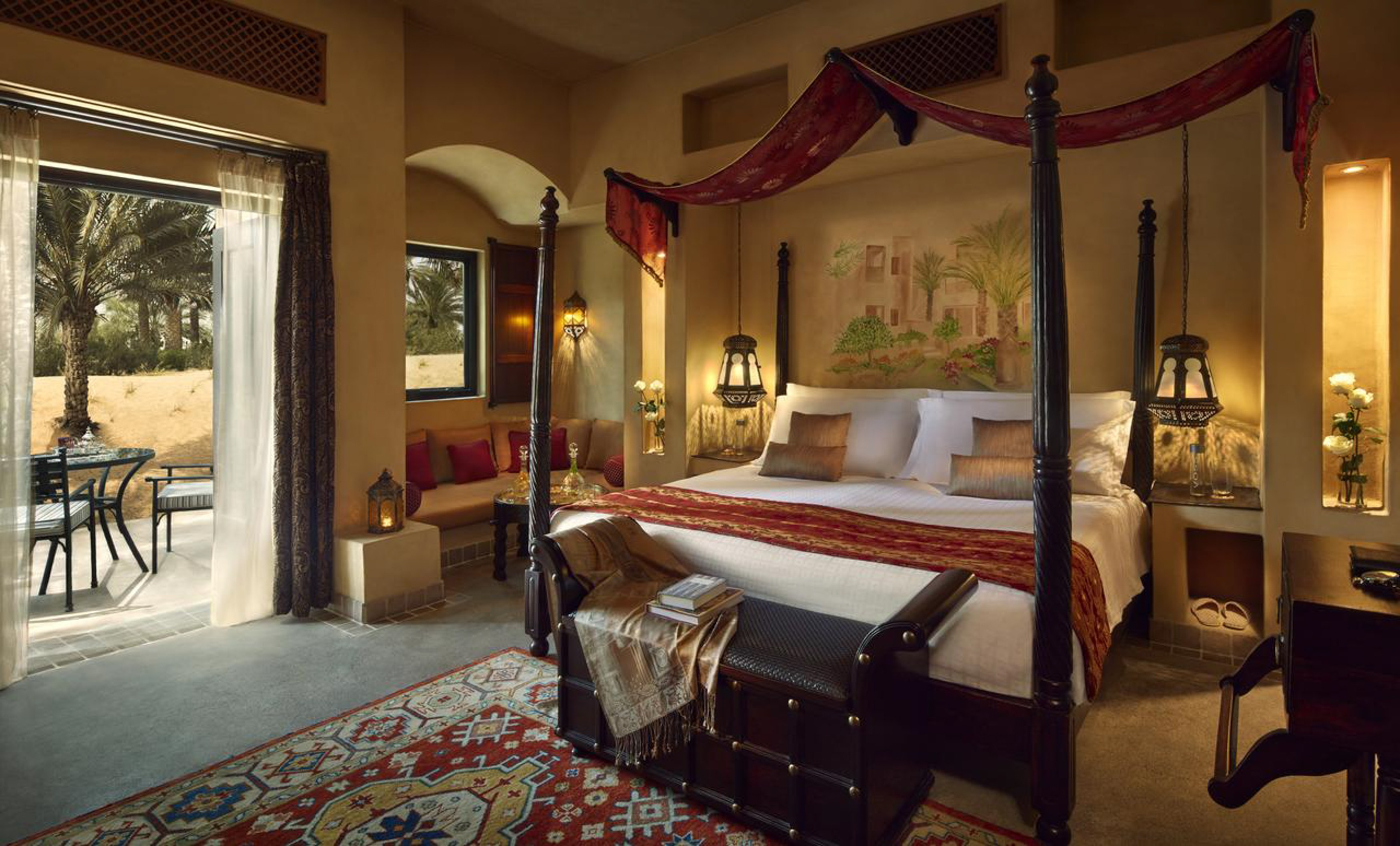 Bab Al Shams is located in the Al-Qudra desert, just a short drive from central Dubai