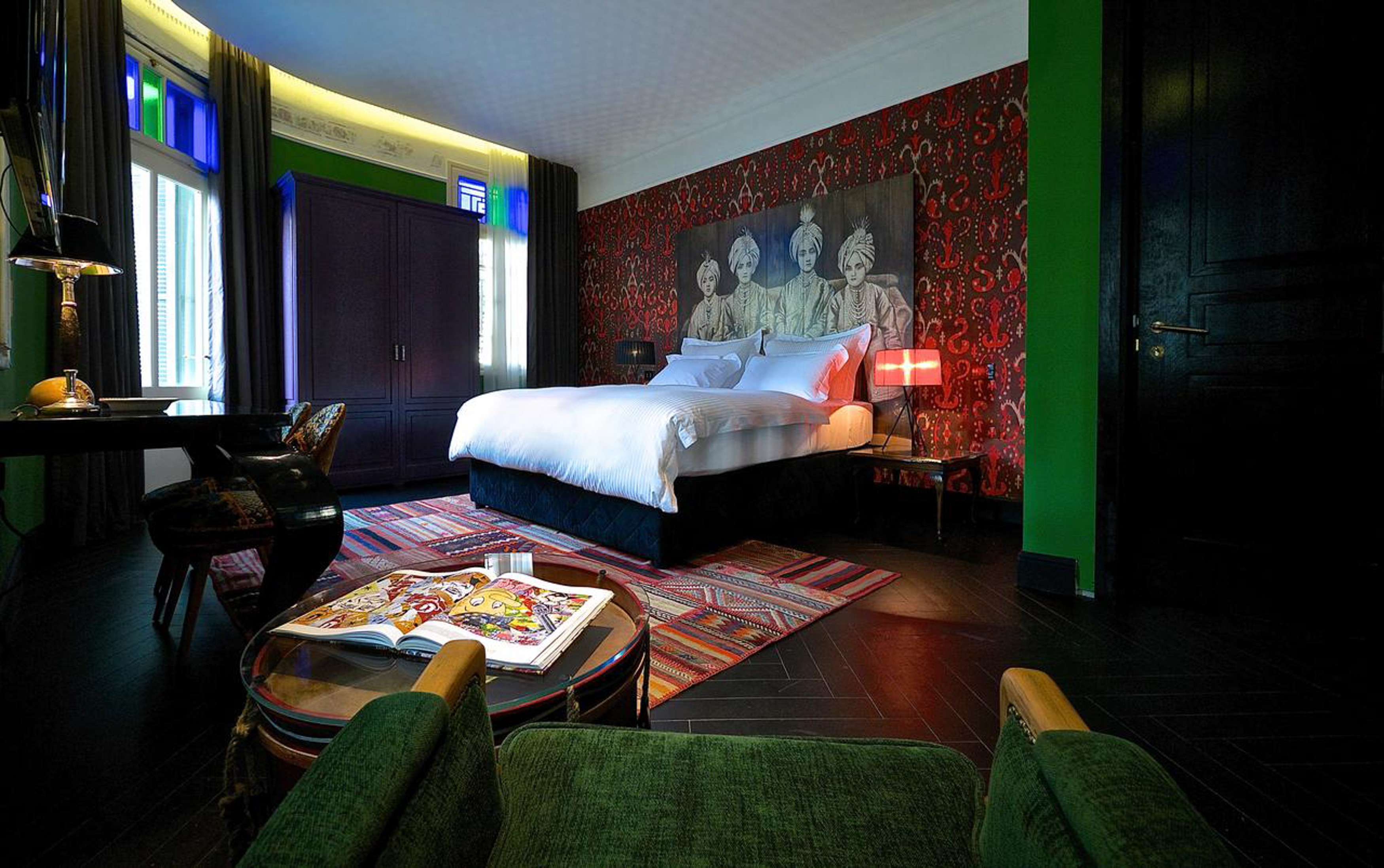 The Alma Hotel and Lounge lies inside a beautifully renovated 1925 townhouse
