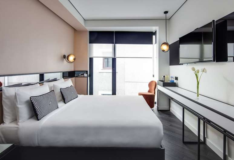 The Westist Hotel and Spa's guest rooms are comfortable and modern in design