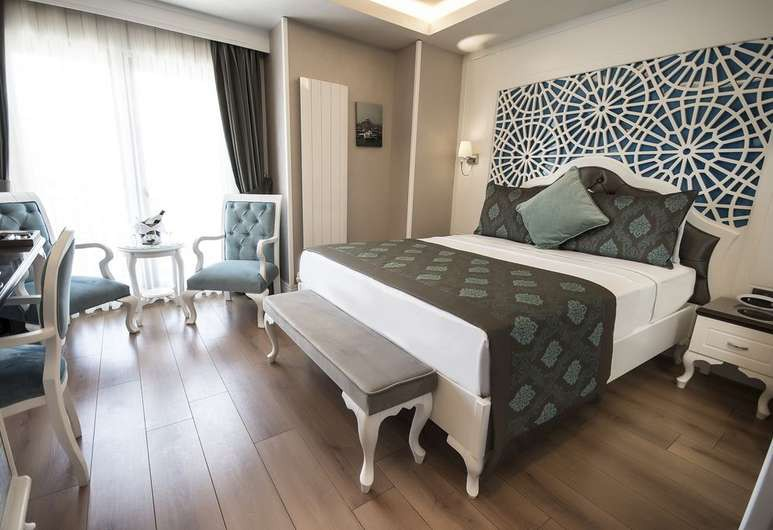 Antusa Palace Hotel and Spa lies in the Old City of Istanbul
