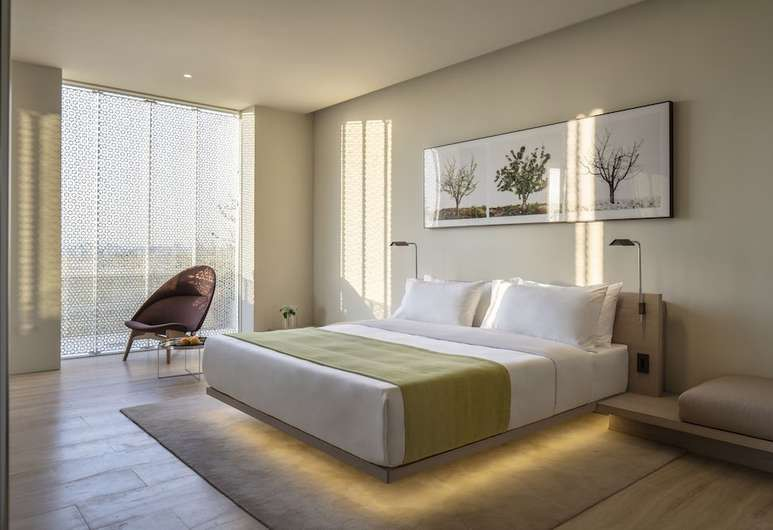 The Jaffa's rooms and suites feature furniture by British designer John Pawson