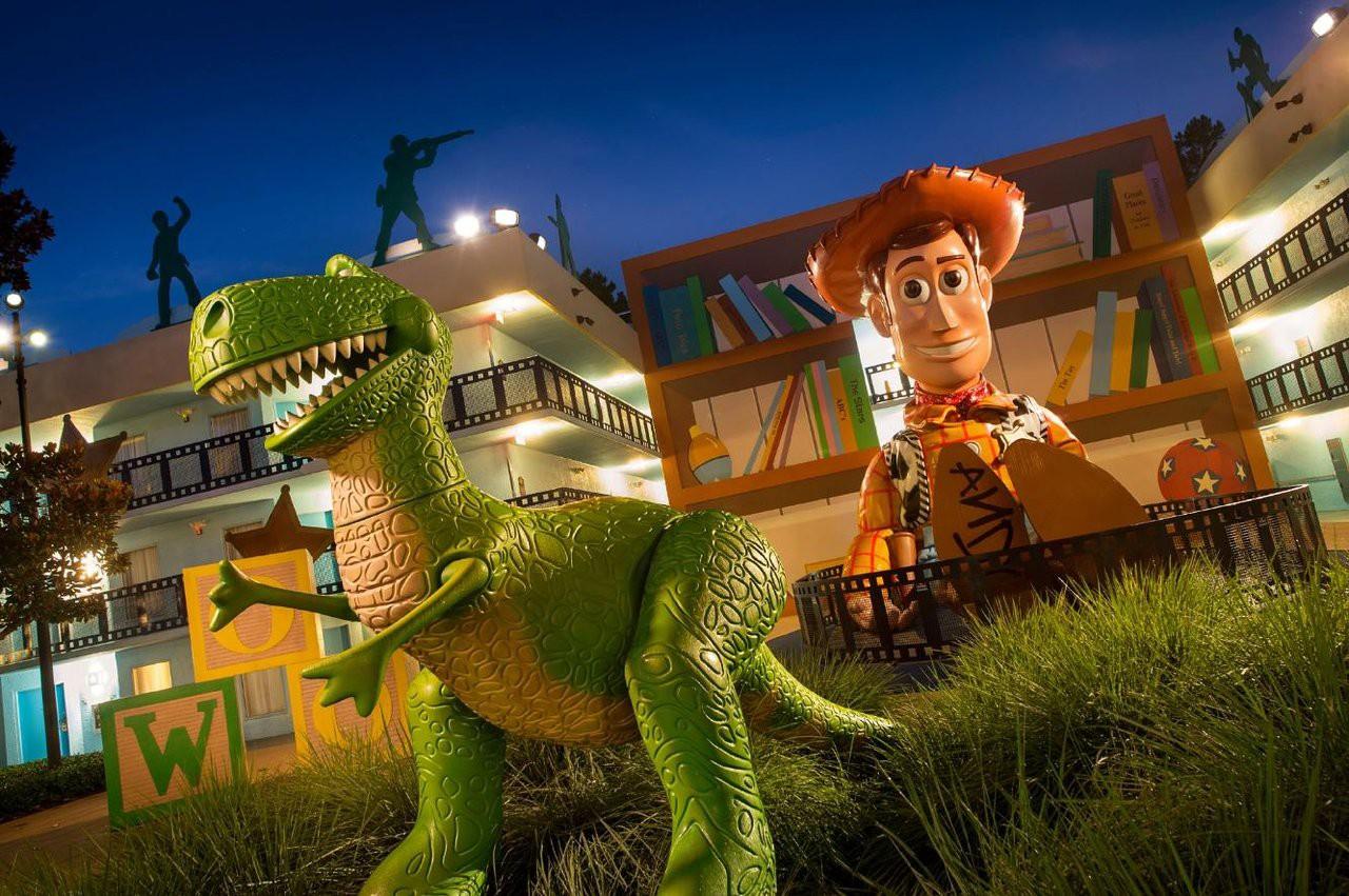 Courtesy of Disney's All-Star Movies Resort