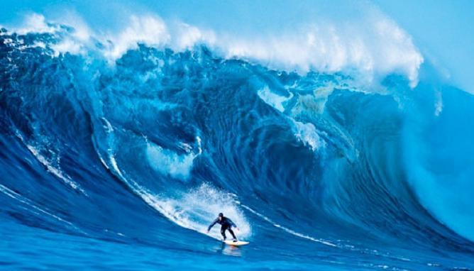 All Over La Jolla, and Waimea Bay: Surfin' USA