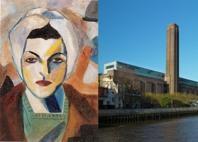 Choucair at Tate Modern - The Pioneer of Abstract Art in the Middle East