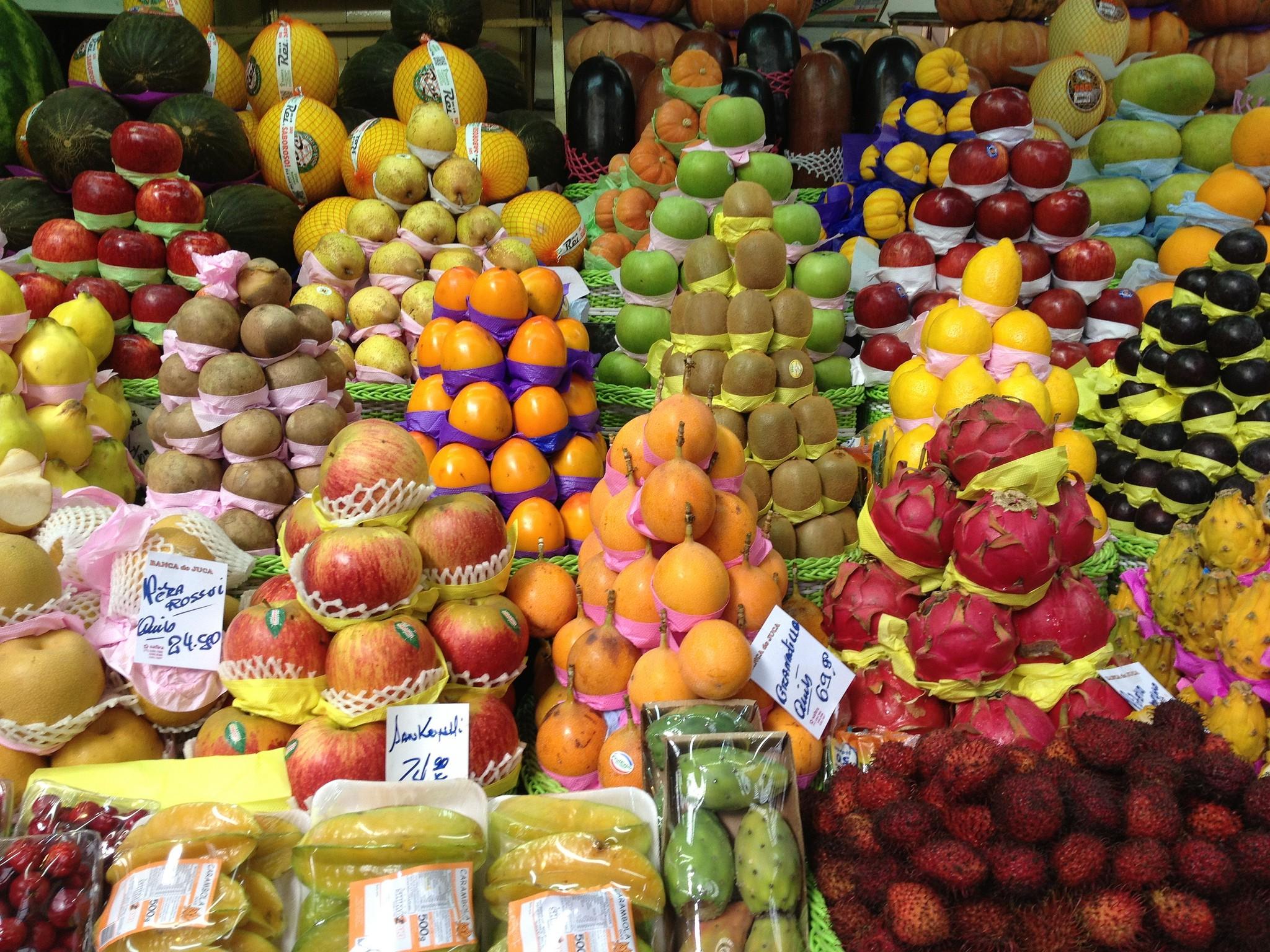 Fruit at the Marcado Municipal © Jason Rosenberg / Flickr