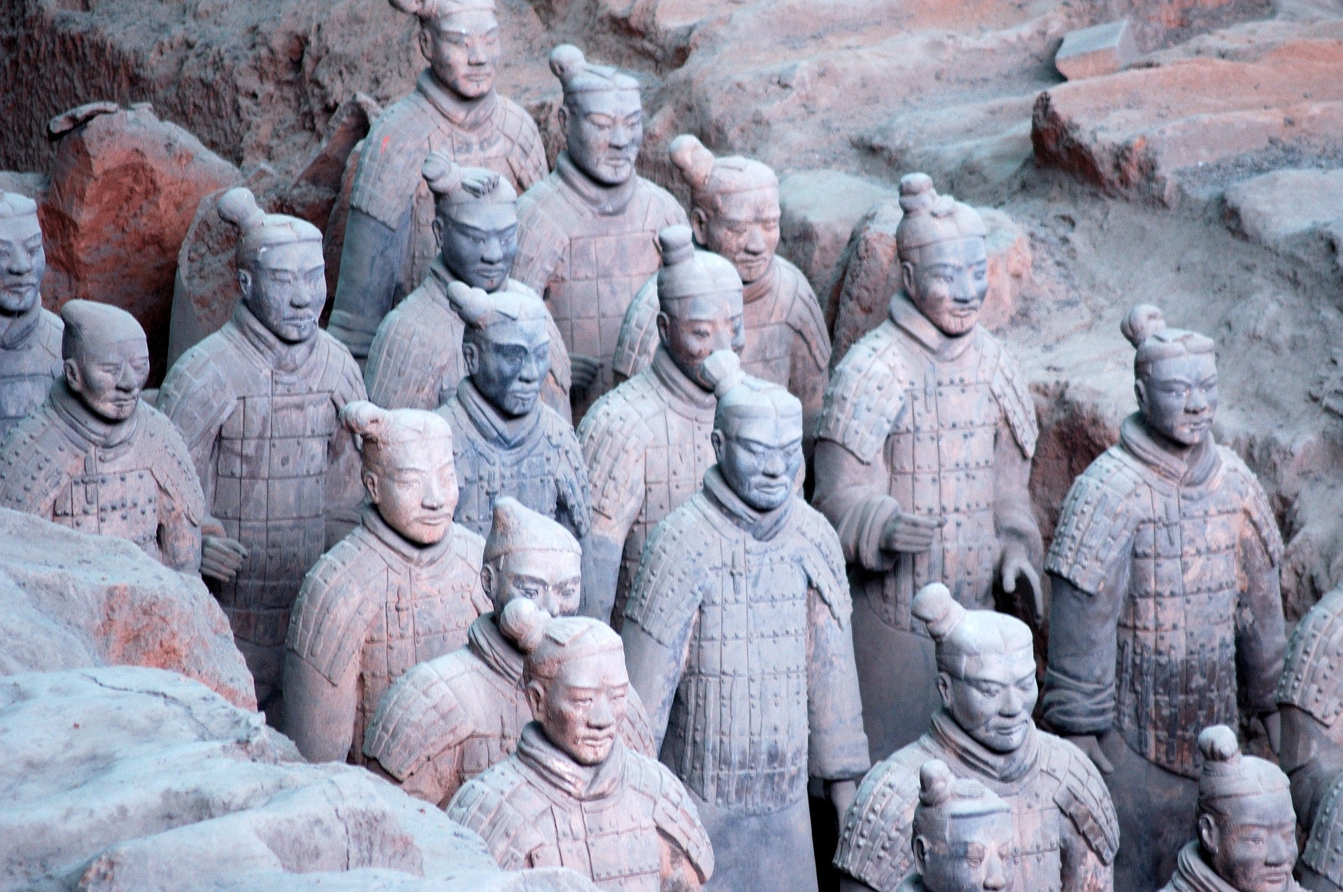Terracotta Warriors | © Pixabay
