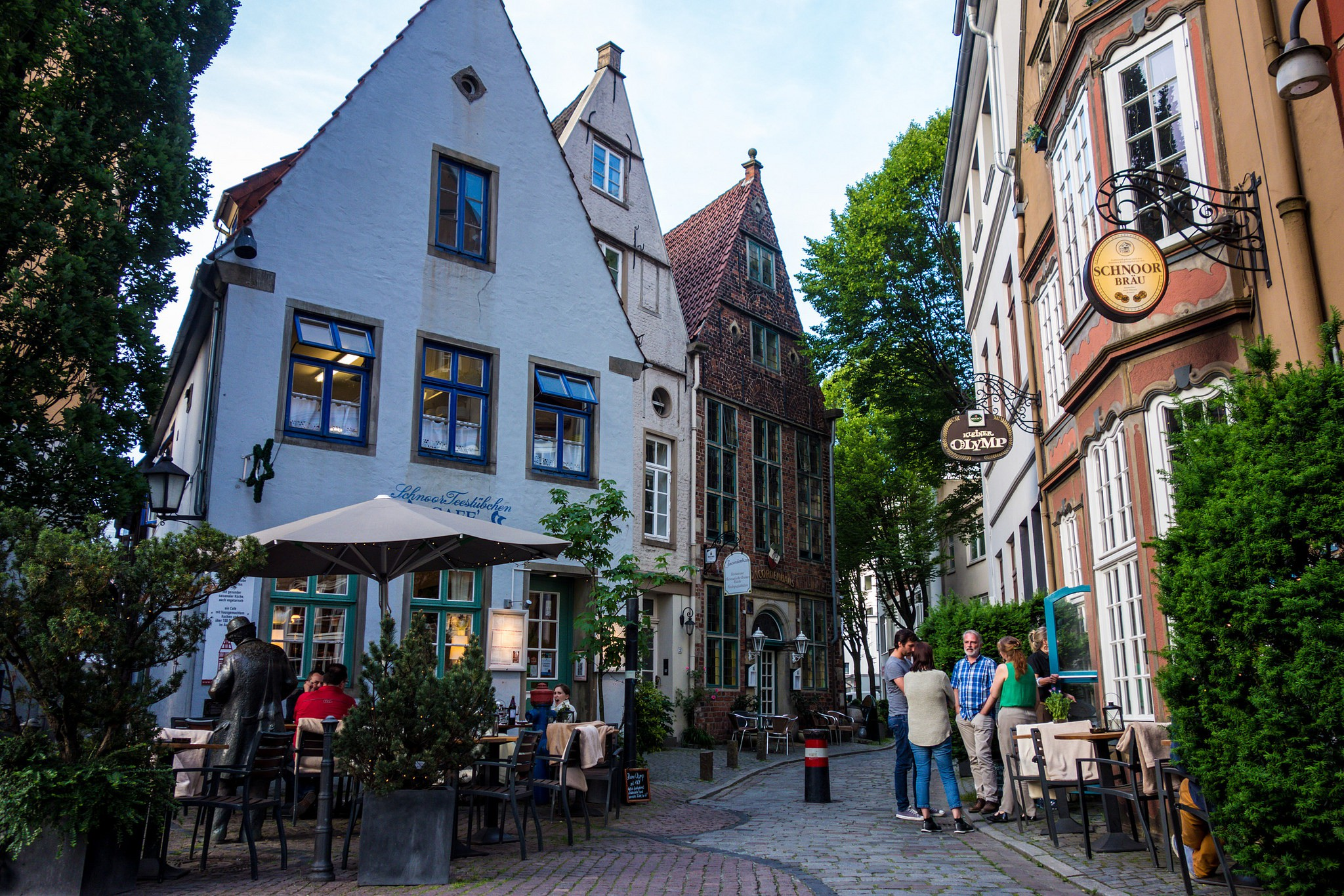 Bremen, Germany  ©Klim Levene/Flickr