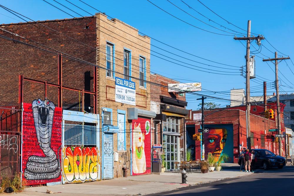 Mural art in Bushwick, Brooklyn | © Christian Mueller/Shutterstock