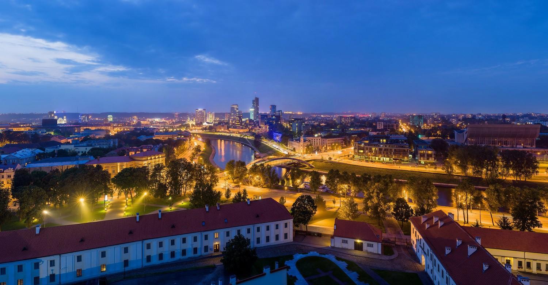 Vilnius Skyline | © David Iliff / Wikimedia Commons