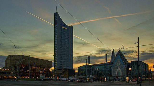 View over Augustusplatz |© Jörgens.mi/WikiCommons