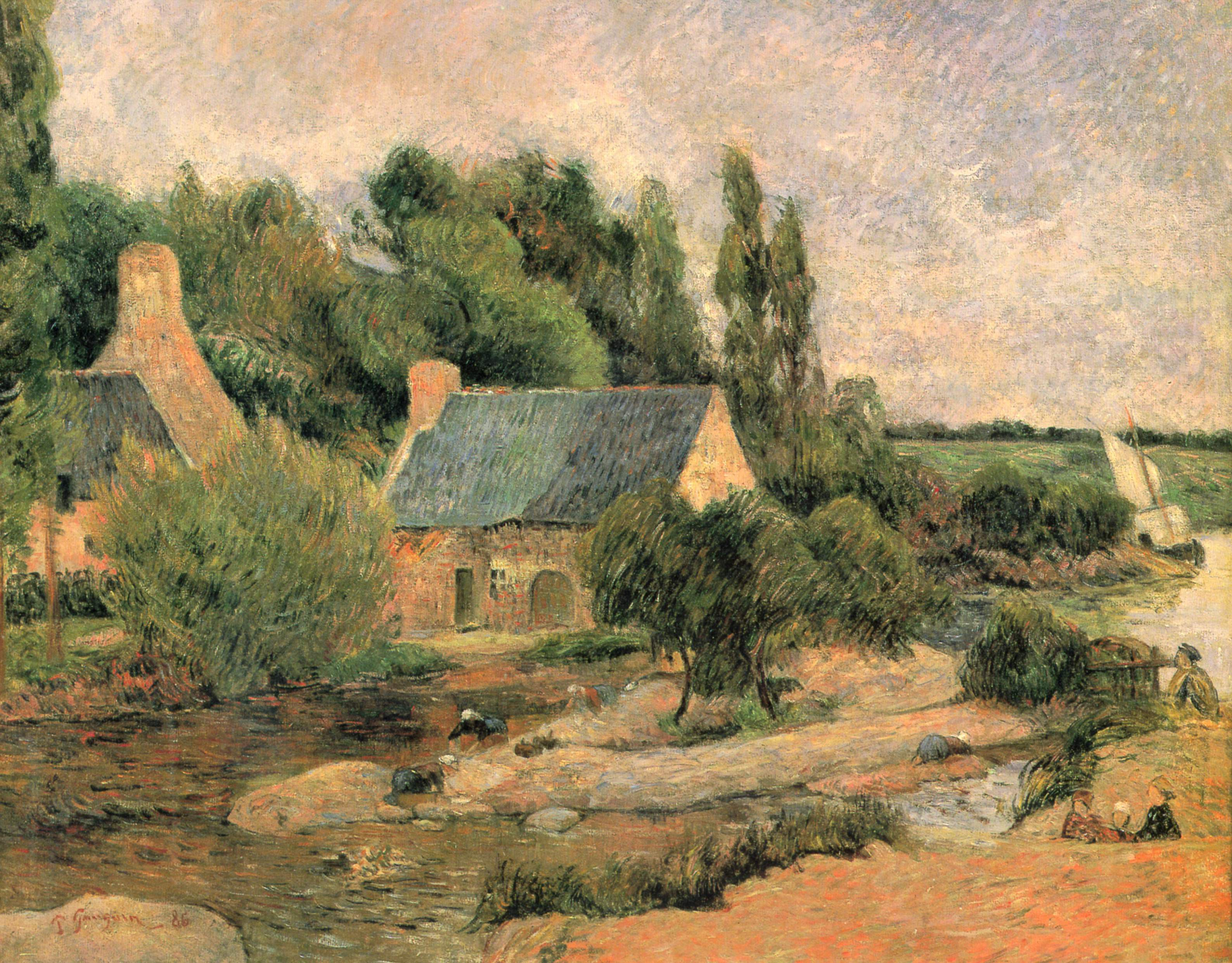 Paul Gauguin's Brittany: Then And Now