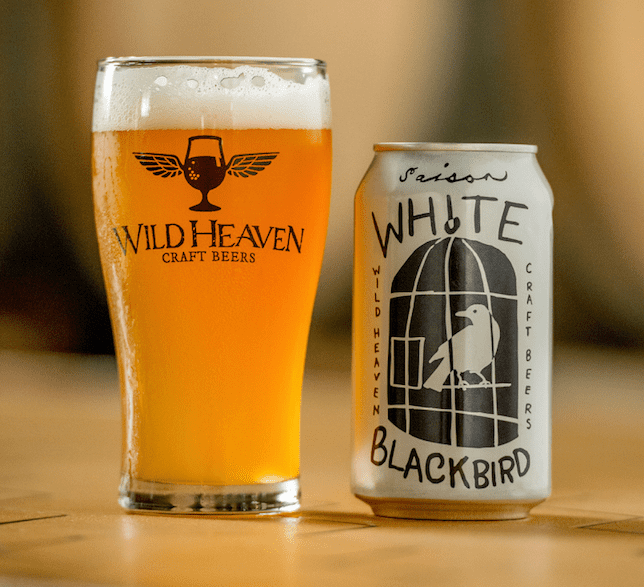 White Blackbird Saison l Courtesy of Wild Heaven Craft Beers