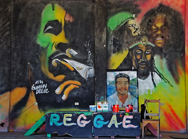 Reggae stage, Jamaica I © Peter/Flickr
