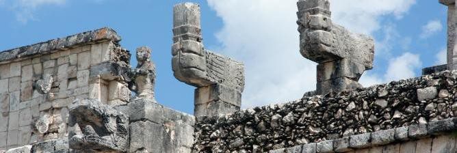 Aesthetics of Beauty and Power: Ten Maya and Aztec Sites in Mexico