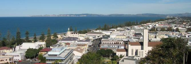 Architecture, Art Deco and Earthquakes in Napier