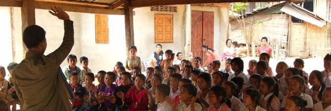 The Travelling Library of the Mekong: Literature Projects in Laos