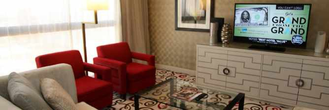 ONE TANK GETAWAYS ©   Enjoying The Suite Life Off Of The Las Vegas Strip