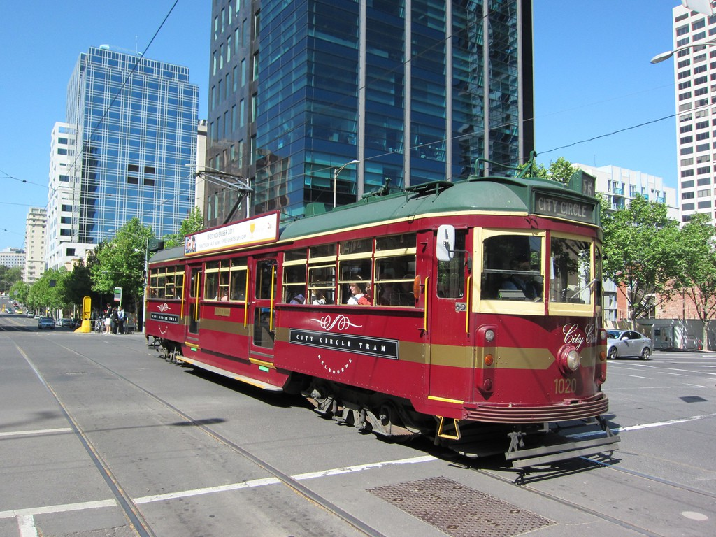 City Circle Tram in Melbourne | © Terrazzo/Flickr