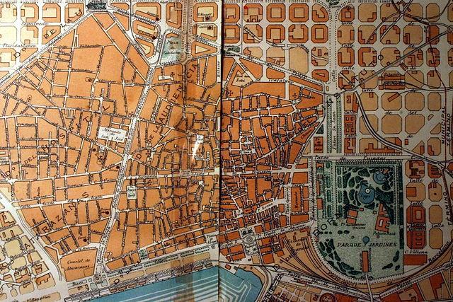 Barcelona City Plan, 1891 | © Amadalvarez /WikiCommons