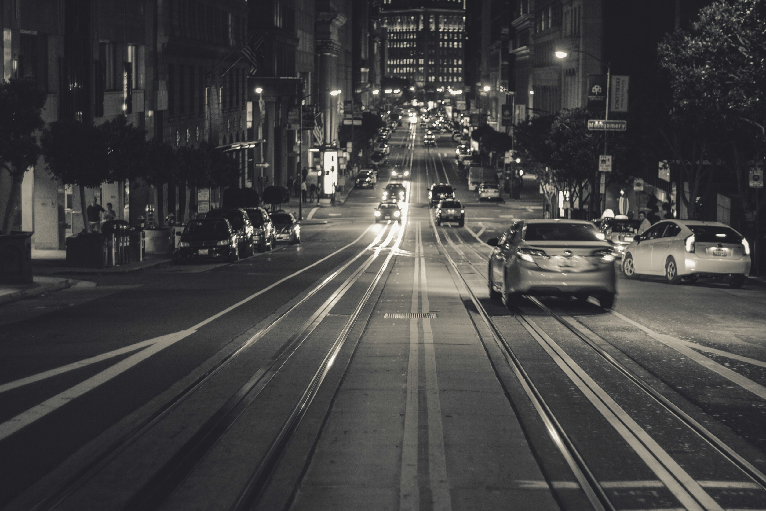 San Francisco by night © Pexels