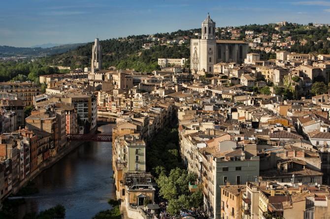 Girona City |© Patronat de Turisme Costa Brava Pirineu de Girona / Wikicommons