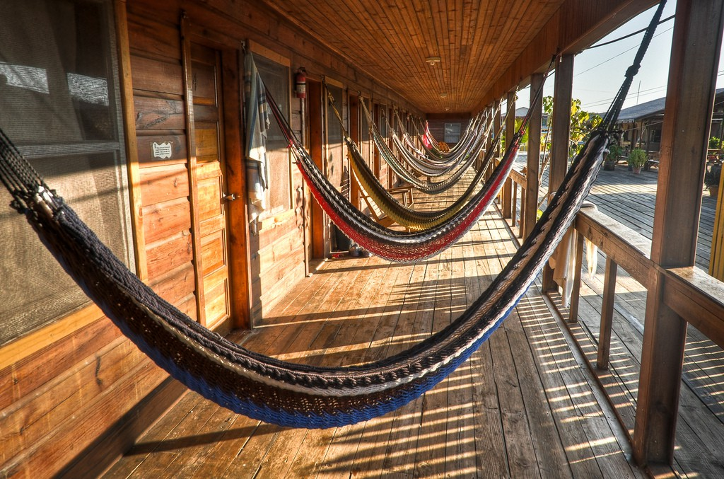 Hammocks at Cross Creek, Utila