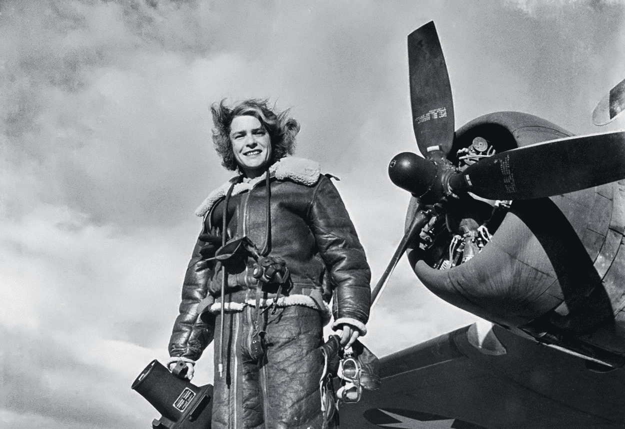 Margaret Bourke-White, 1943 | © alrionun/Flickr
