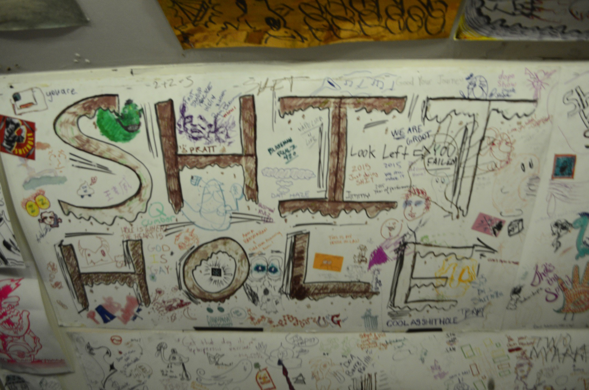 """'The Shit Hole' 