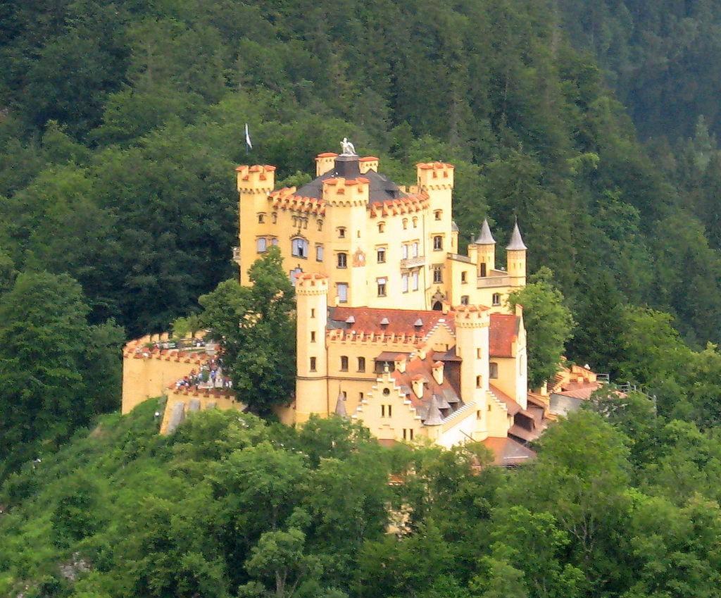 Hohenschwangau | © Lokilech/Wikimedia Commons